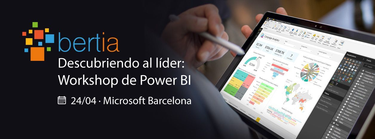 Descubriendo al líder: Workshop de Power BI by BertIA