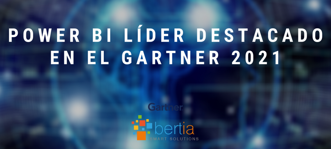 Power BI Líder destacado en el Gartner 2021